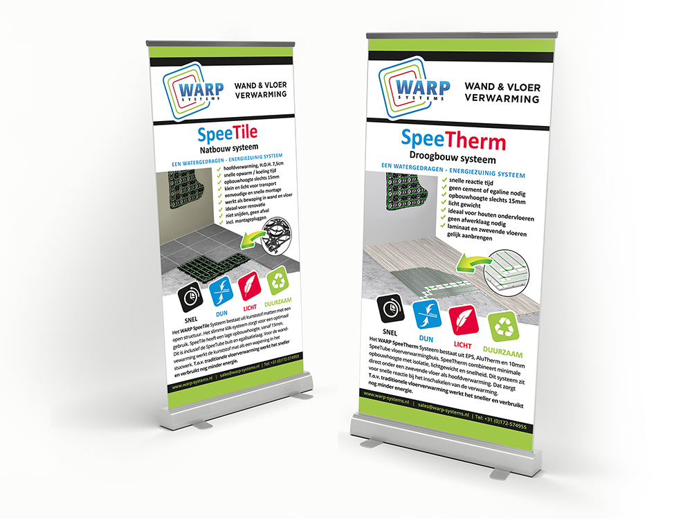 Roll-up Warp Systems BV