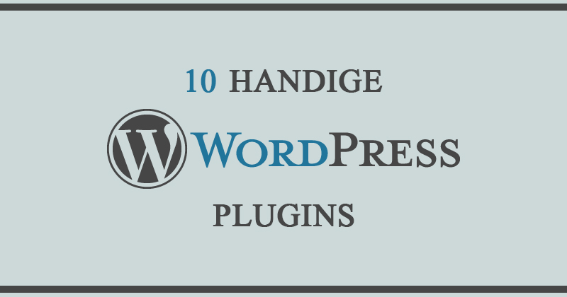 10 handige wordpress plugins
