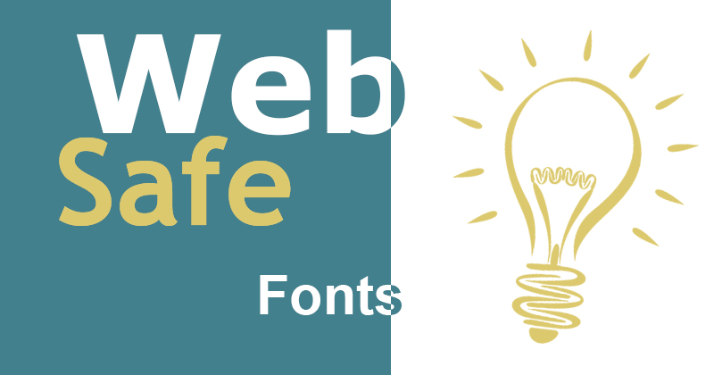 web safe fonts